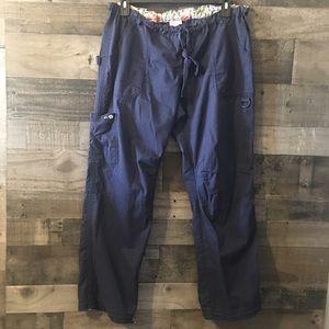 Koi Lindsey cargo scrub pants XL